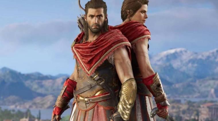 Az Assassin's Creed Valhalla megerősítette, melyik Odyssey-főhős számít kánonnak bevezetőkép