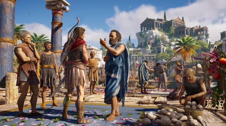 Assassin's Creed Odyssey - nemsokára érkezik a Discovery Tour mód bevezetőkép