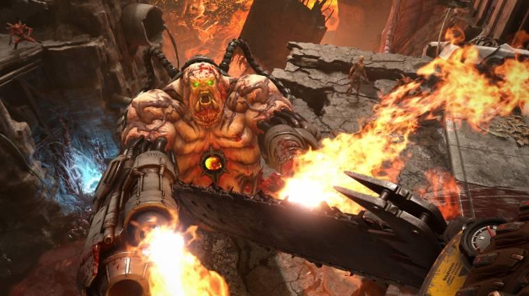 Sokat túlóráztak a Doom Eternal fejlesztői, hogy tartani tudják a megjelenést bevezetőkép