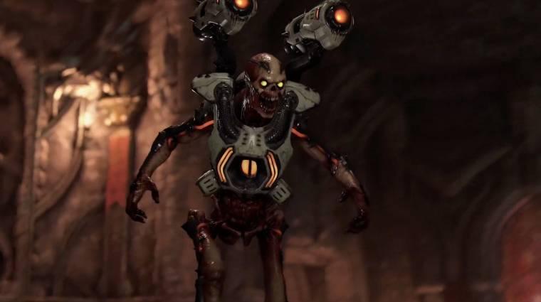 A Doom Eternal fejlesztői tátott szájjal nézték, ahogy valaki 27 perc alatt végez a játékkal bevezetőkép