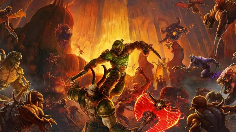 Új magyar feliratos előzetesben pusztulnak a Doom Eternal démonjai bevezetőkép