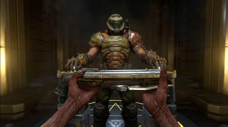 Rózsaszín unikornisnak öltözve is irthatjuk a démonokat a Doom Eternalban bevezetőkép