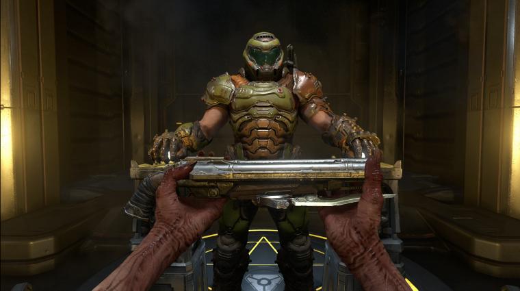 Kipróbáltuk a Doom Eternalt, exkluzív gameplayt is hoztunk nektek! bevezetőkép