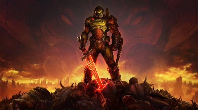 Eladásaival a franchise minden korábbi rekordját megdöntötte a Doom Eternal bevezetőkép
