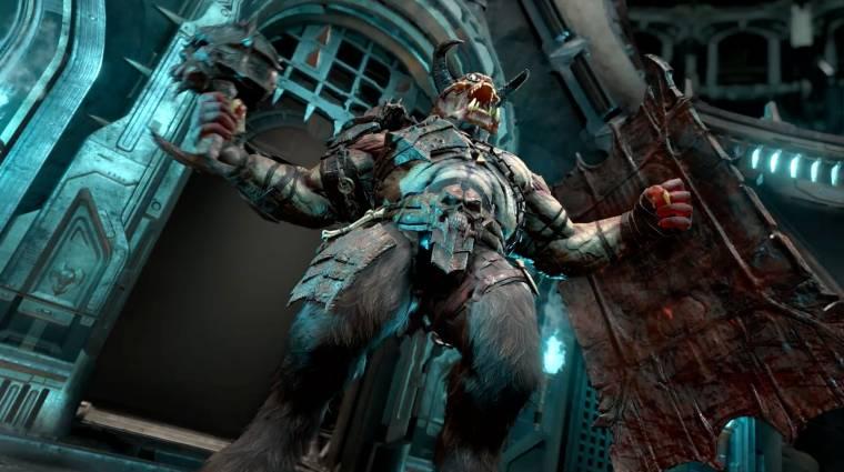 Nem csak a zene miatt fantasztikus a Doom Eternal launch trailer bevezetőkép