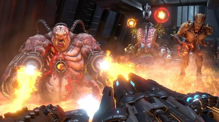 Így fest majd a Doom Eternal RTX-szel felvértezve bevezetőkép