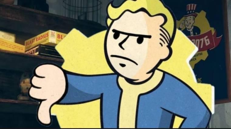 Napi büntetés: nem vették vissza a Fallout 76 lemezét, szétverte a boltot bevezetőkép