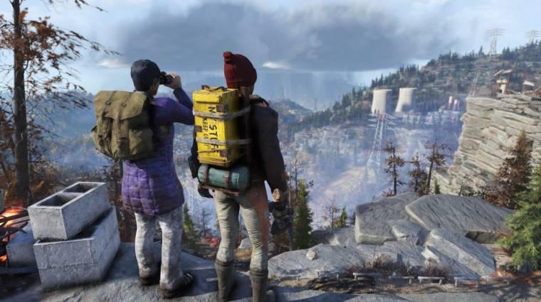 Fallout 76 - jön egy új frakció, végre hordhatunk hátizsákot bevezetőkép