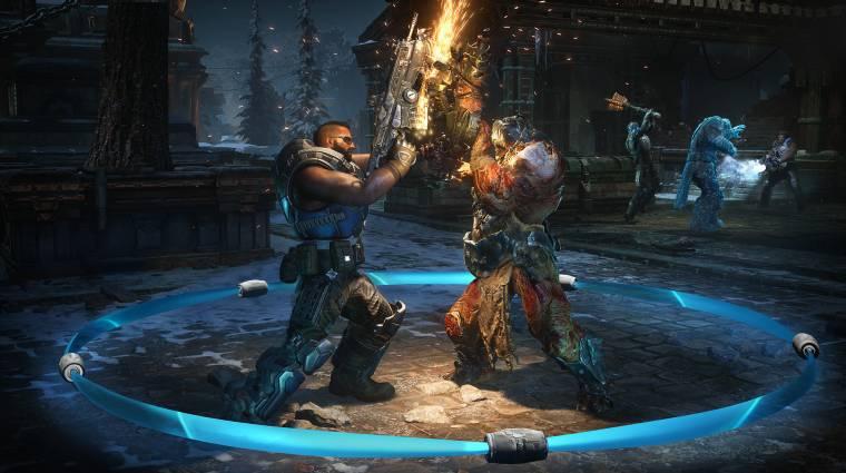 Gears 5 - lesz cross-play PC és Xbox One között bevezetőkép