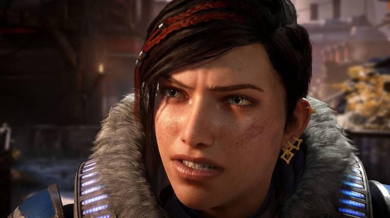 Gamescom 2019 - új előzetesen domborít a Gears 5 kampánya bevezetőkép