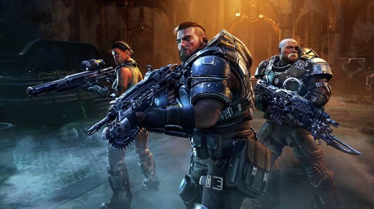 Tisztázta a The Coalition, hogy mely platformokon jelenik meg a Gears Tactics bevezetőkép
