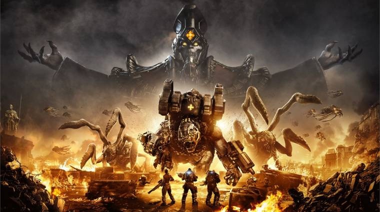A koronavírus ellenére is aranylemezre került az új Gears játék bevezetőkép