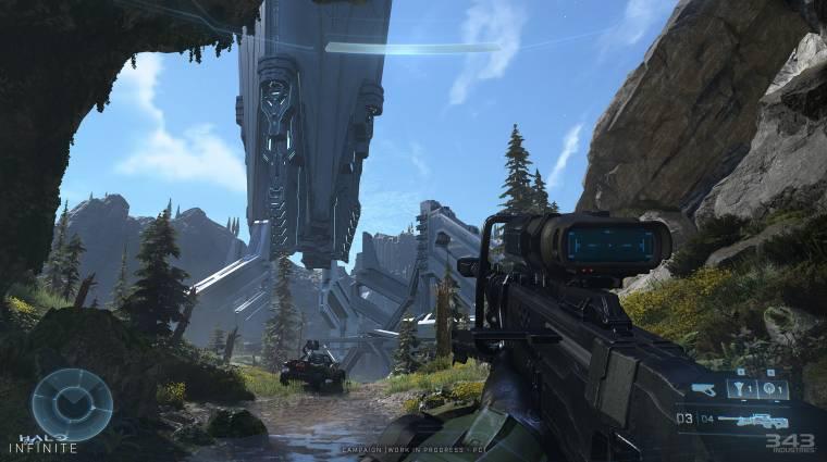 PC-s képeken a megszépült Halo Infinite bevezetőkép