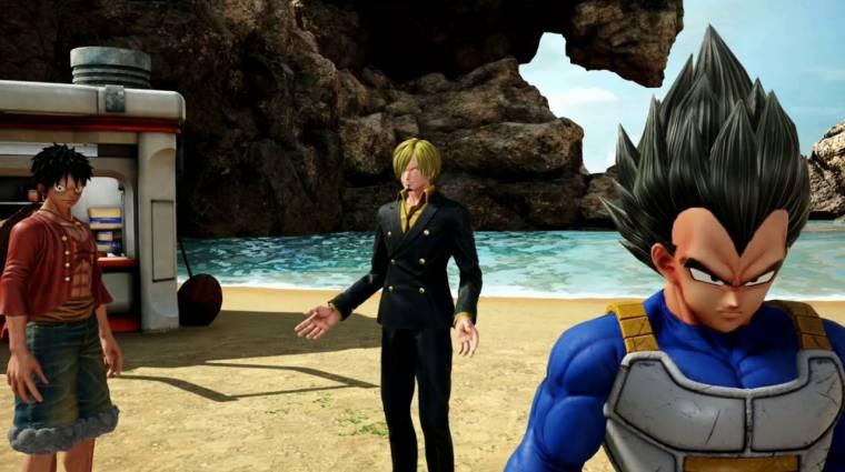 Jump Force - az átvezető jeleneteken röhög az internet bevezetőkép