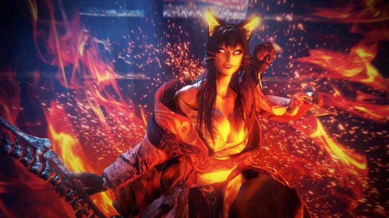 PlayStation 5-ön letépi az arcodat a Nioh 2 bevezetőkép