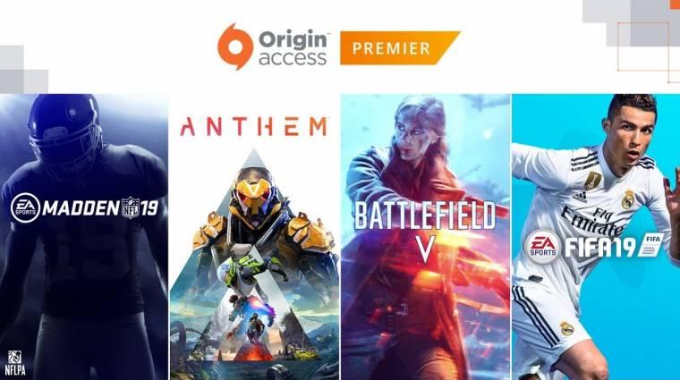 Jövő héten indul az EA prémium előfizetéses rendszere bevezetőkép