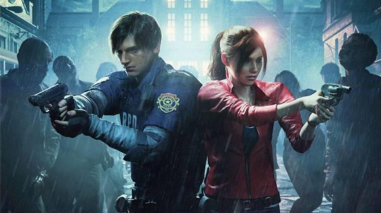Eredetileg belső nézetben is játszható lett volna a Resident Evil 2 bevezetőkép