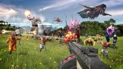 A Serious Sam 4 gameplay trailer pörgős és véres öldöklést mutat be kép