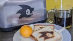 A SEGA egyik E3-as bejelentése egy Sonic kenyérpirító kép