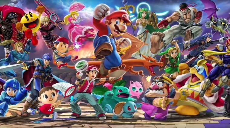 A Super Smash Bros. Ultimate minden idők leggyorsabban fogyó Switch-játéka lett bevezetőkép