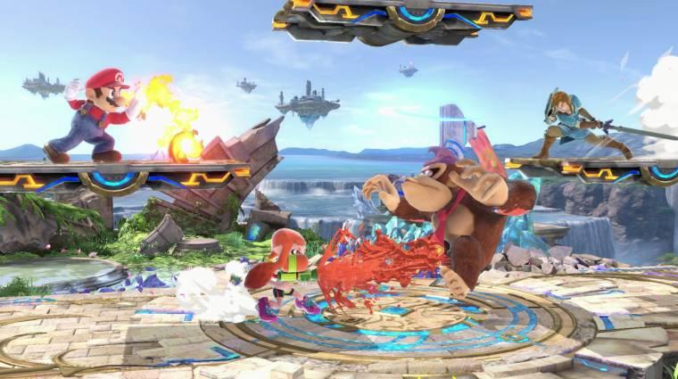 Valahogyan kiszivárgott a Super Smash Bros. Ultimate bevezetőkép