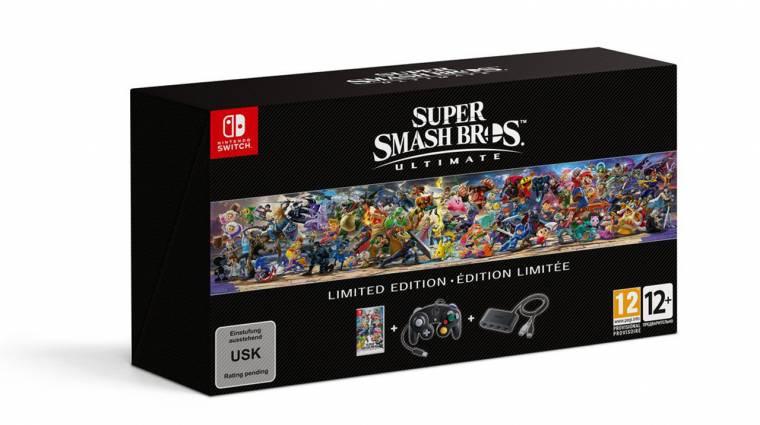 GameCube kontrollerrel jön a Super Smash Bros. Ultimate limitált kiadása bevezetőkép