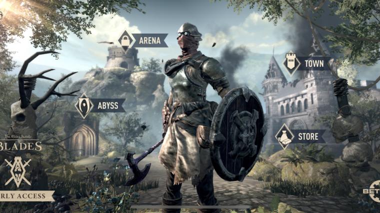 The Elder Scrolls: Blades - jövőre csúszik a switches megjelenés bevezetőkép