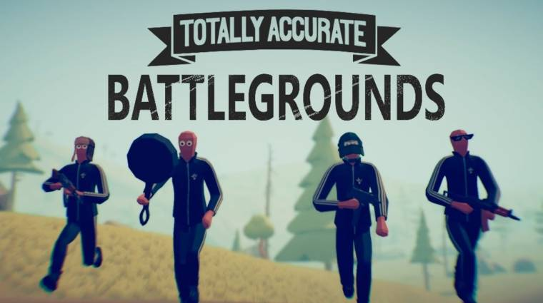 Totally Accurate Battlegrounds - még ingyenesen letölthető a legviccesebb PUBG-klón bevezetőkép