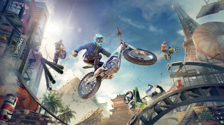 E3 2018 - új infók jöttek a Trials Rising multijáról bevezetőkép