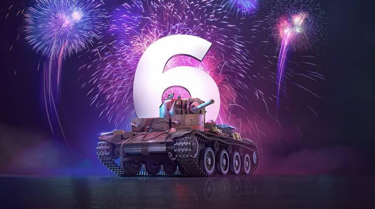 Hatéves a World of Tanks: Mercenaries, ajándék tankot kapunk bevezetőkép