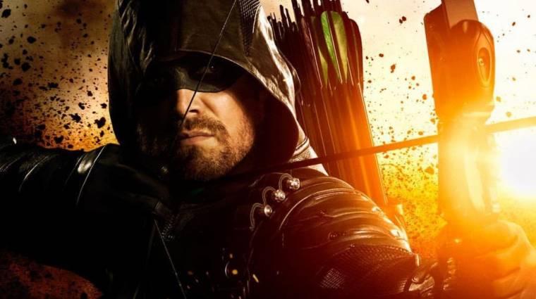 Comic-Con 2018 - rácsok mögött a címszereplő az Arrow 7. évadának előzetesében kép