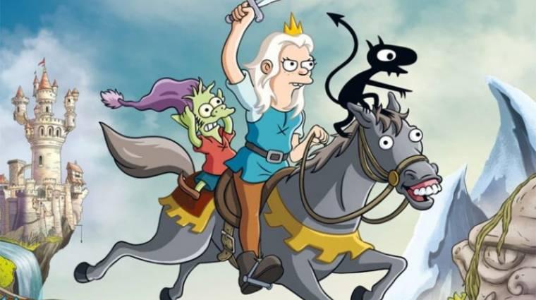 Comic-Con 2018 - traileren a Simpson család készítőjének új sorozata kép