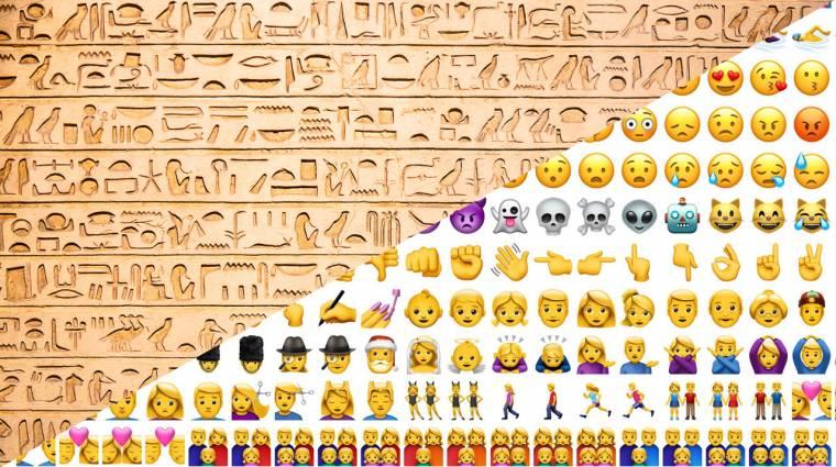 Ma van az emojik világnapja: de honnan jöttek a modern hieroglifák? kép