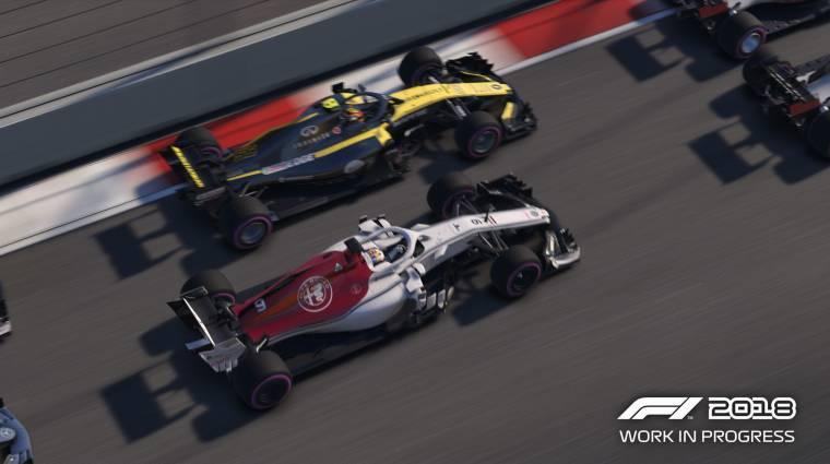F1 2018 - új videón a játékmenet bevezetőkép