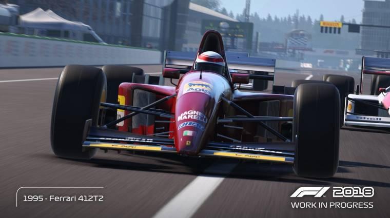 F1 2018 - gameplay videón láthatjuk az újdonságokat bevezetőkép