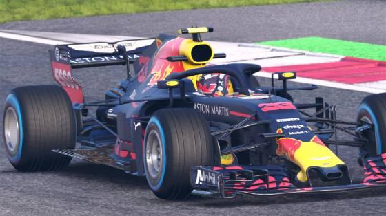 F1 2018 infódoboz