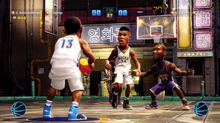 NBA 2K Playgrounds 2 - októberben mehet a laza kosarazás bevezetőkép