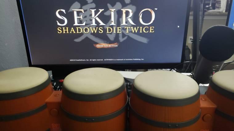 Sekiro: Shadows Die Twice - az egyik streamer bongókkal vitte végig bevezetőkép