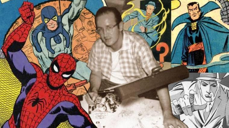 Meghalt Steve Ditko, Pókember és Doktor Strange társalkotója bevezetőkép