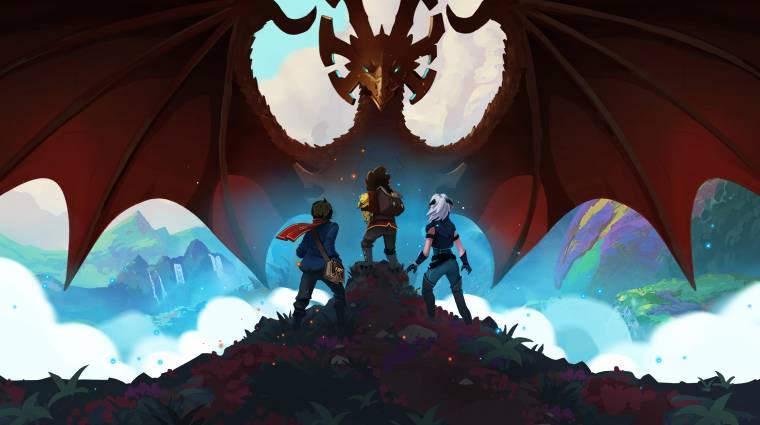 A teljes The Dragon Prince-sagát berendelte a Netflix kép