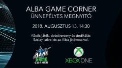 Vegyél részt te is az Alba Xbox One Game Corner megnyitóján! kép