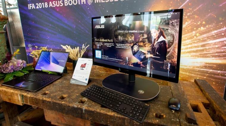 Laptoptól hordozható monitorig: az ASUS az IFA-n is nagyot alkotott kép