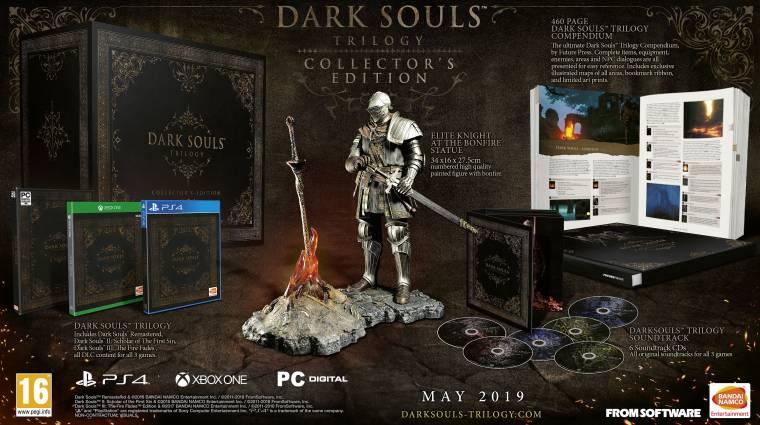 Dark Souls Trilogy - egészen vad gyűjtői kiadást kap Európa bevezetőkép
