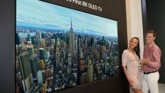 Itt a világ első 8K OLED televíziója kép