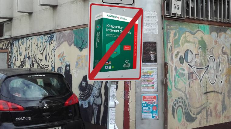 Magyarországról is eltüntetik a Kasperskyt kép