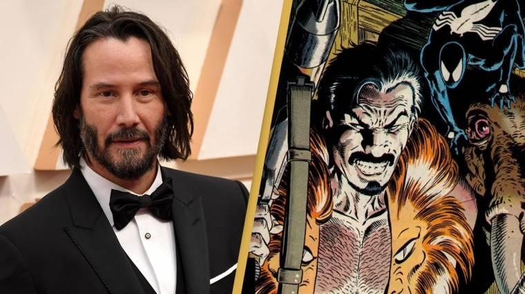Keanu Reeves lehet majd Kraven, a vadász? bevezetőkép
