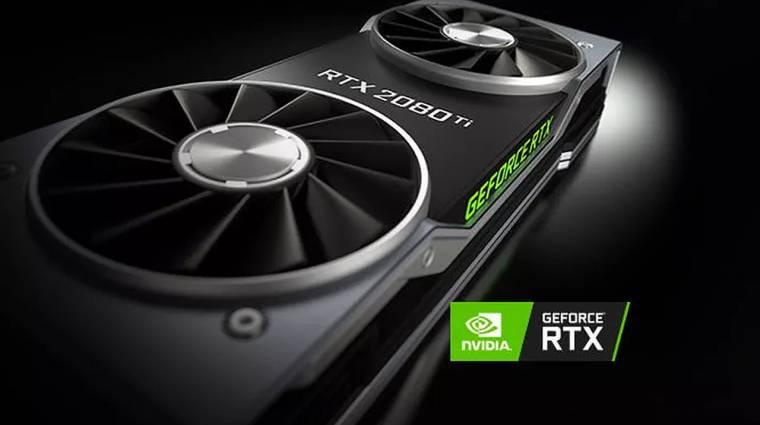 Bemutatkozott az NVIDIA GeForce RTX 2080 Ti kép
