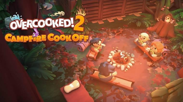 Overcooked 2 - az új DLC-ben a tábortűz mellett kell majd ínycsiklandót alkotnunk bevezetőkép