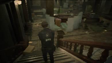 Resident Evil 2 - a legalacsonyabb grafikai beállítások a PlayStation 1-es időket idézik