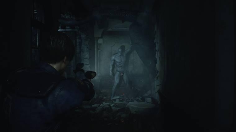 Napi büntetés: nem is akarjuk megérteni, miért mászkálhat fecskében a Resident Evil 2 Tyrantje bevezetőkép